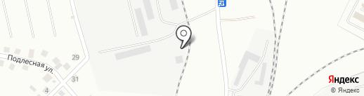 Автосозвездие на карте Альметьевска