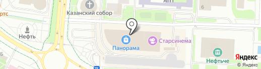 Эконика на карте Альметьевска