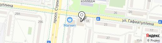 Косметика Востока на карте Альметьевска