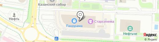 Цветы Зазеркалья на карте Альметьевска