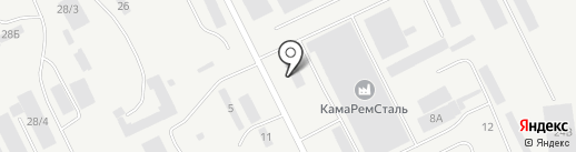 Металл-кам на карте Набережных Челнов