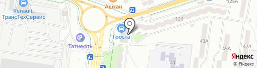 РПК на карте Альметьевска