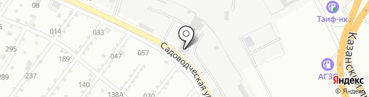ННН на карте Набережных Челнов