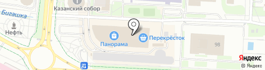 Инфомат самообслуживания, Правительство Республики Татарстан на карте Альметьевска