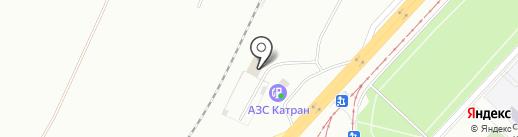 Аист на карте Набережных Челнов