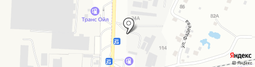 Шиномонтажная мастерская на карте Набережных Челнов
