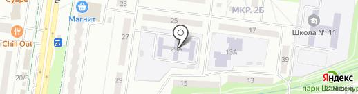 Детский сад №40, Гуси-лебеди на карте Альметьевска