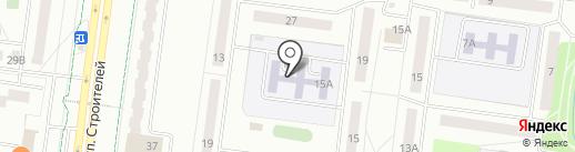 Детский сад №41, Дружные ребята на карте Альметьевска