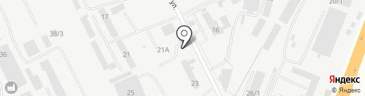 Теплоблок на карте Набережных Челнов