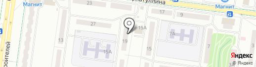 Мастерская по ремонту обуви на ул. Гафиатуллина на карте Альметьевска