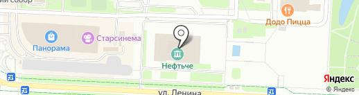 Альметьевская картинная галерея на карте Альметьевска