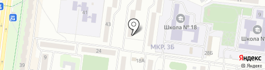 Детская библиотека №8 на карте Альметьевска
