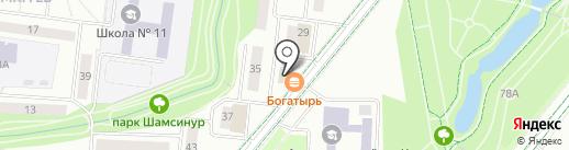 Новый образ на карте Альметьевска