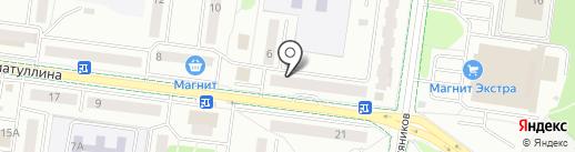 Успех на карте Альметьевска