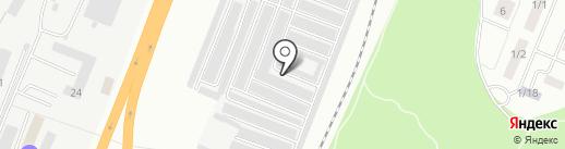 ПРОСТ на карте Набережных Челнов