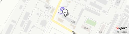 У бороды на карте Альметьевска