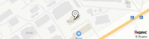 Жесткая мебель на карте Альметьевска