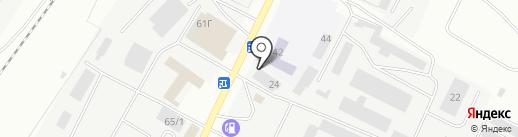 Континент на карте Альметьевска