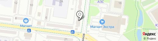 Домовой на карте Альметьевска