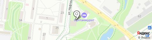 Фламинго на карте Альметьевска