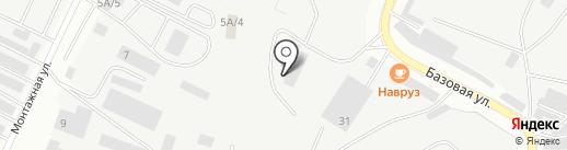 Форсаж на карте Альметьевска