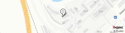 Камская трубная компания на карте Набережных Челнов