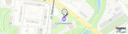АвтоВек-Поволжье на карте Альметьевска