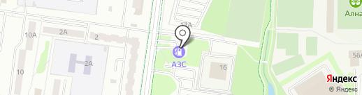 Автомагазин на карте Альметьевска