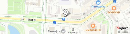 Сеть платежных терминалов, АБ Девон-кредит, ПАО на карте Альметьевска
