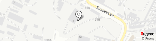 Компания Диалог-Авто на карте Альметьевска
