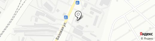Аксу на карте Альметьевска