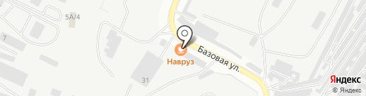 Навруз на карте Альметьевска