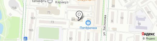 Парфюмерная лавка на карте Альметьевска