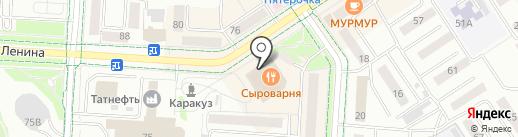 Технорама на карте Альметьевска