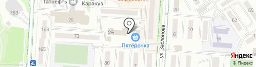 Вояж на карте Альметьевска