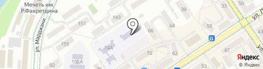 Детский сад №24, Кукчэчэк на карте Альметьевска