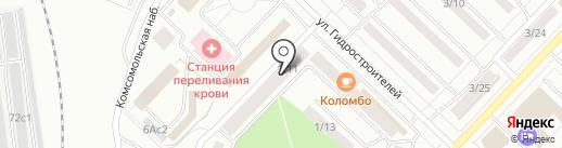 Наутилус на карте Набережных Челнов