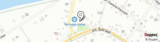 Автомастерская на карте Альметьевска