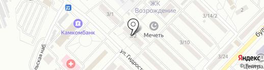 Магазин печатной продукции на карте Набережных Челнов