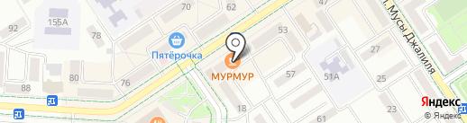 Круиз на карте Альметьевска