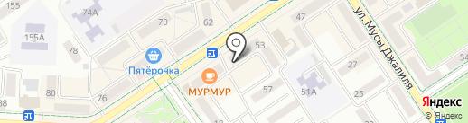 Магазин часов на карте Альметьевска