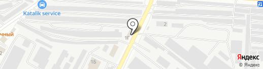 Шиномонтажная мастерская на карте Альметьевска