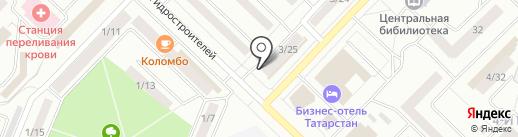 У Татьяны на карте Набережных Челнов