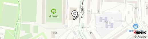 ДЮСШ по футболу на карте Альметьевска