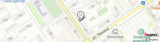 Анас на карте Альметьевска