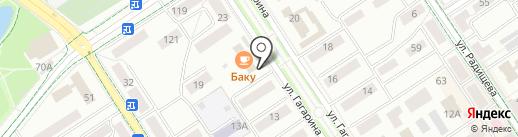 Ямато на карте Альметьевска
