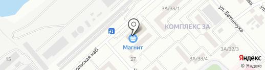 Сеть платежных терминалов, Автоградбанк на карте Набережных Челнов