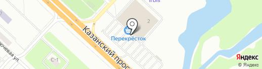 Салон сотовой связи на карте Набережных Челнов