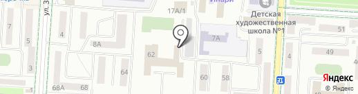 Светсервис, МУП на карте Альметьевска