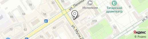 I love Фото на карте Альметьевска